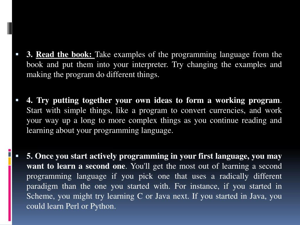 PPT - Welcome To My Presentation On Computer Programming PowerPoint