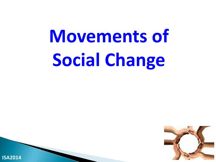 Movements of