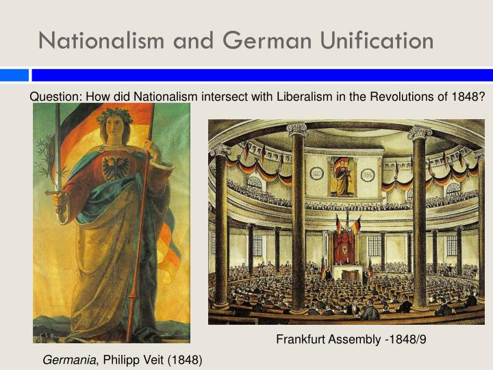 a description of the german unification and industrialization The revolutions of 1848–49 the hard times that swept over the continent in the late 1840s transformed widespread popular discontent in the german confederation into a full-blown revolution after the middle of the decade, a severe economic depression halted.