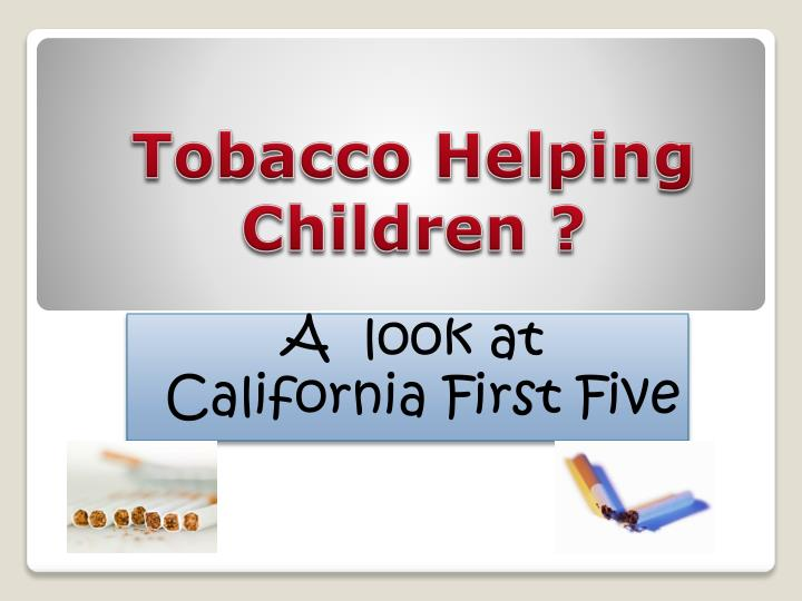a look at california first five n.