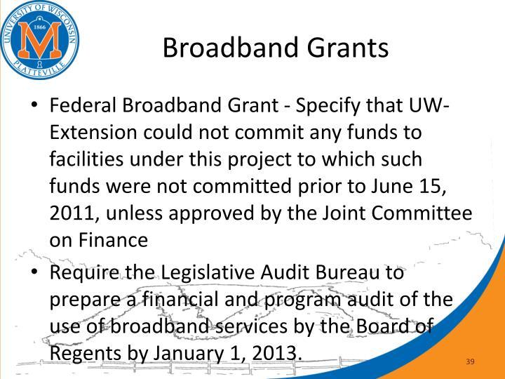 Broadband Grants