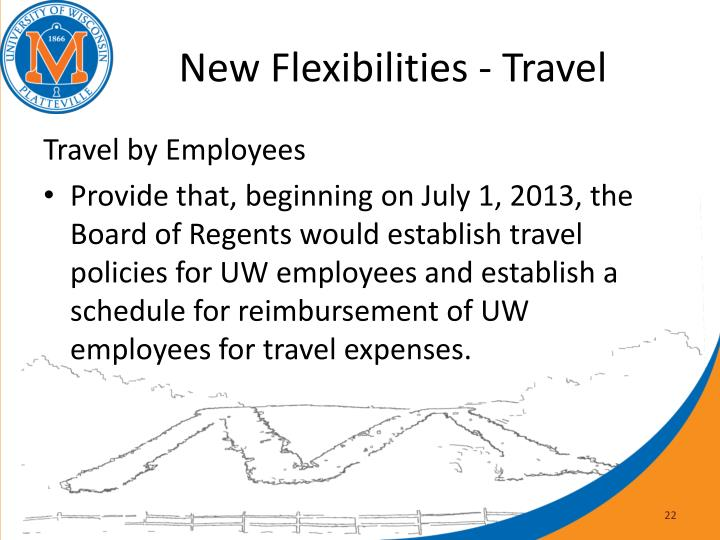 New Flexibilities - Travel