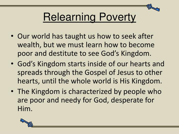 Relearning Poverty