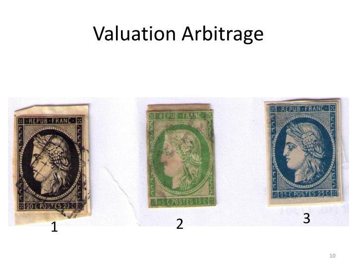 Valuation Arbitrage