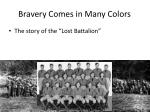bravery comes in many colors