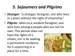 5 sojourners and pilgrims1