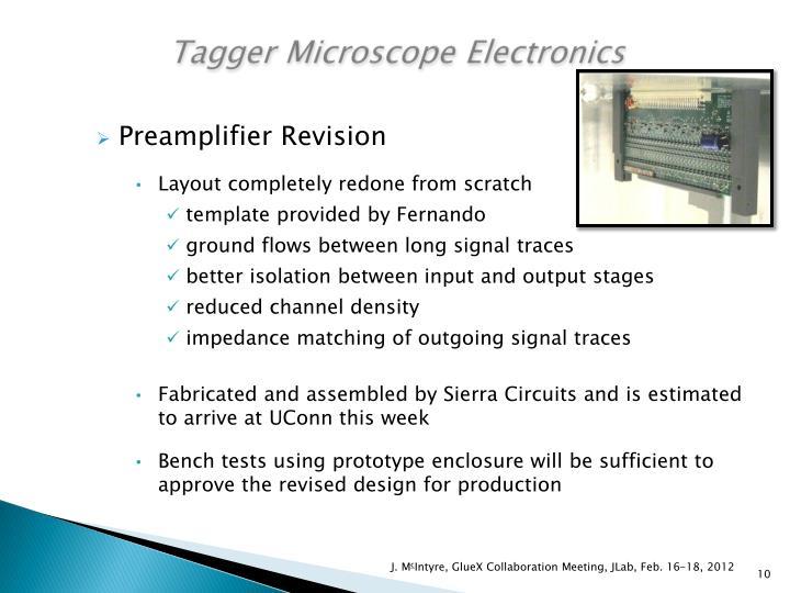 Tagger Microscope Electronics