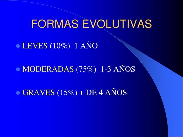 FORMAS EVOLUTIVAS
