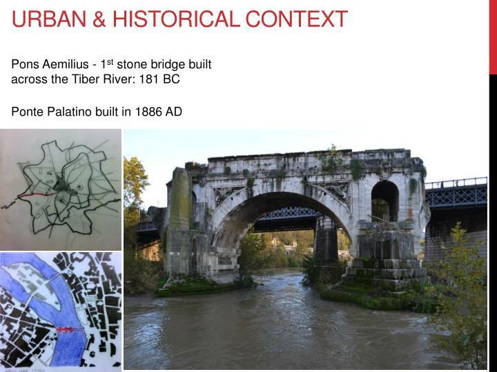 Urban historical context
