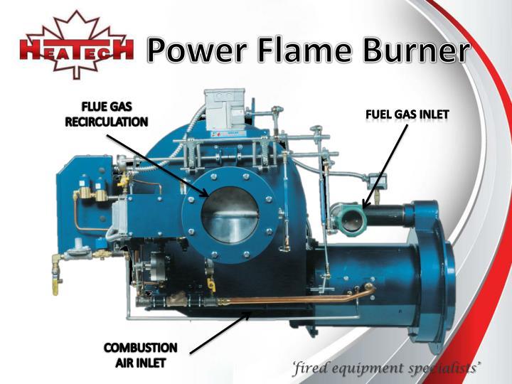 Power Flame Burner