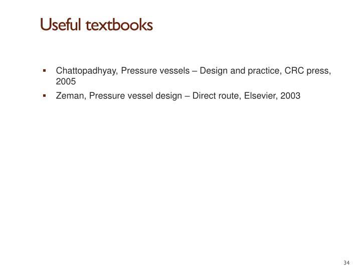 Useful textbooks