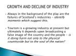 growth and decline of industry