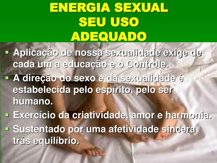 ENERGIA SEXUAL