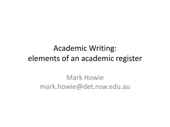 elements of an academic essay Elements of persuasive/argument papers what is a persuasive/argument essay persuasive writing, also known as the argument essay, uses logic and reason to show that one idea is more legitimate than another.