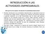 introducci n a las actividades empresariales1