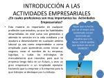 introducci n a las actividades empresariales2