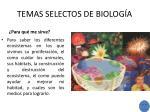 temas selectos de biolog a1