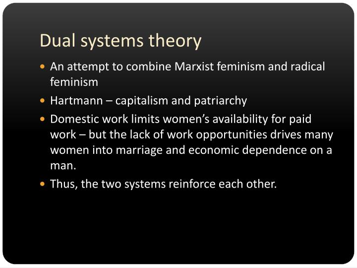 Dual systems theory