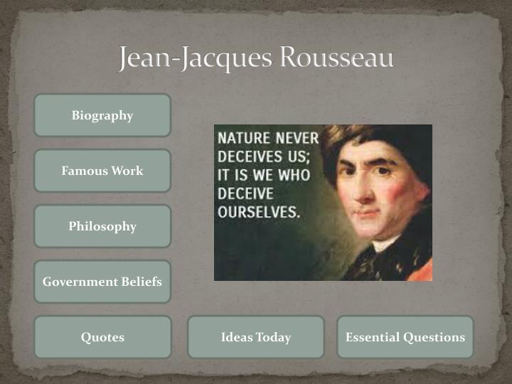 Ppt Jean Jacques Rousseau Powerpoint Presentation Id2179308