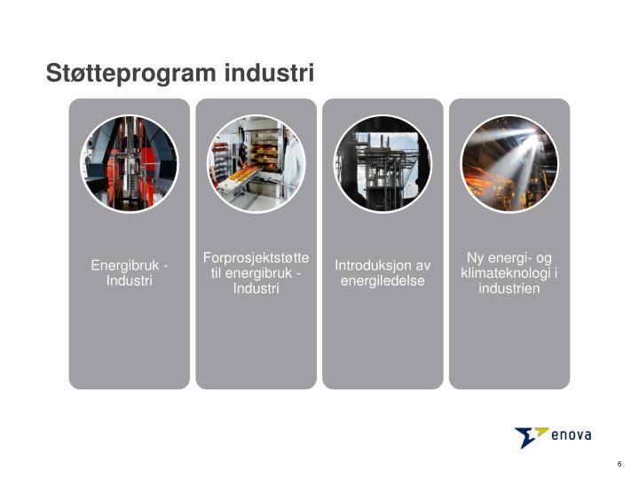 Støtteprogram industri