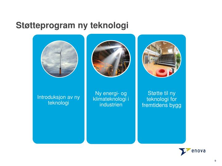 Støtteprogram ny teknologi