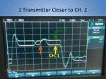 1 transmitter closer to ch 2