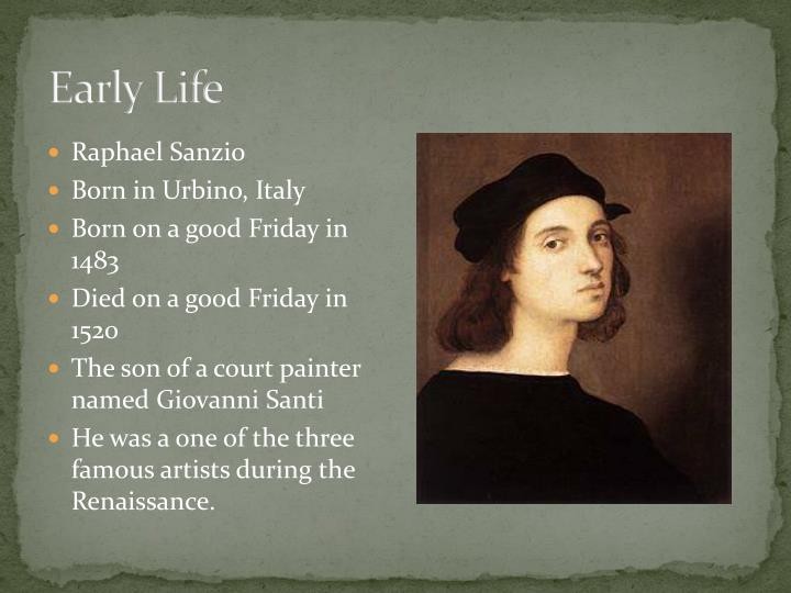 raphael sanzio born