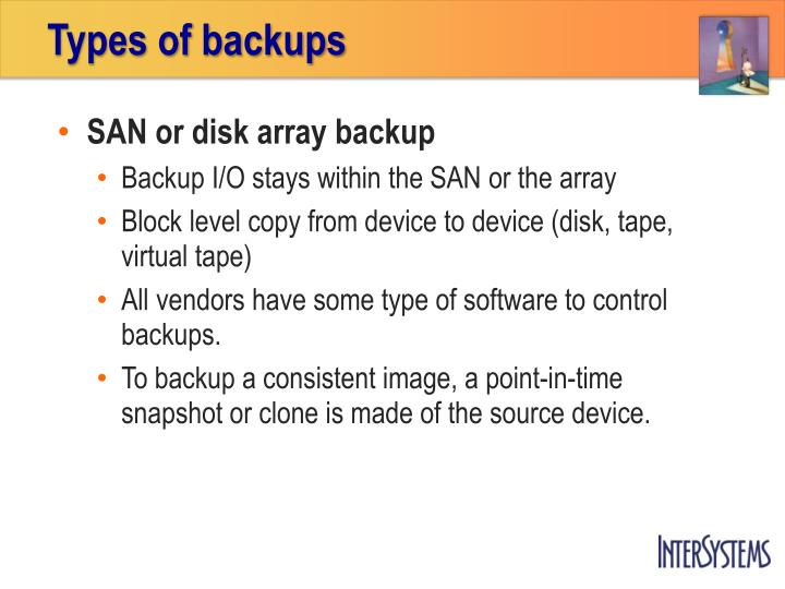 Types of backups1