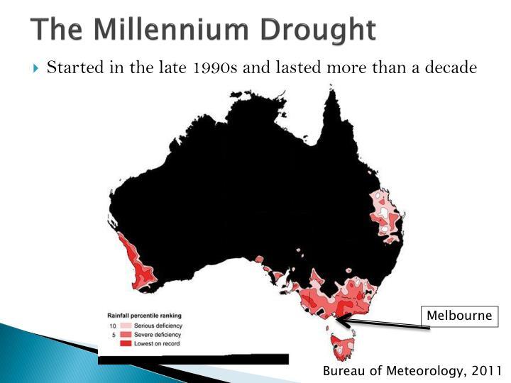 The millennium drought