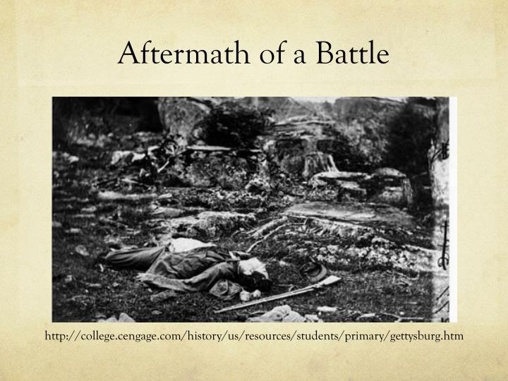 Aftermath of a Battle