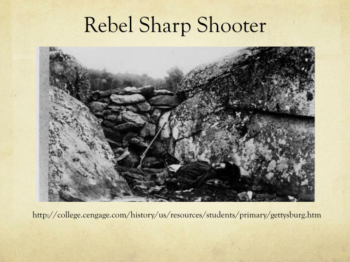 Rebel Sharp Shooter