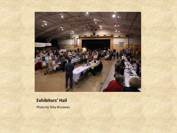 Exhibitors' Hall