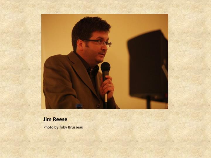 Jim Reese