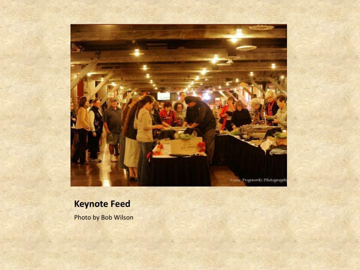 Keynote Feed