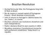 brazilian revolution
