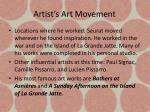 artist s art movement2