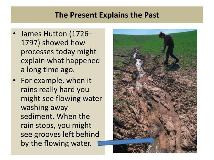 The Present Explains the Past