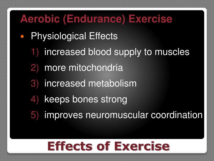 Aerobic (Endurance) Exercise