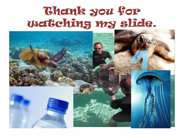 Thank you for watching my slide.