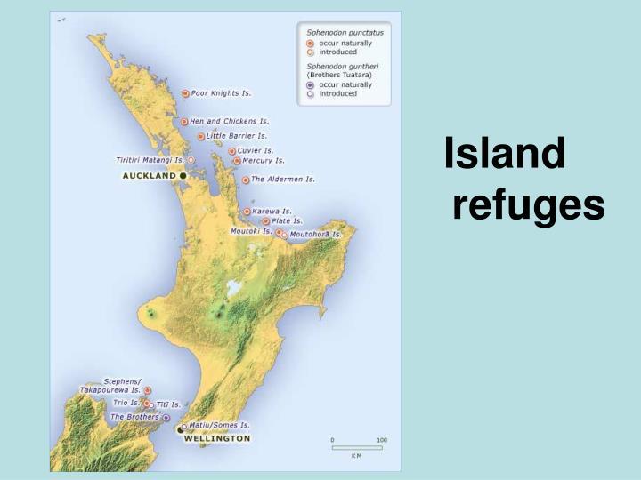 Island refuges