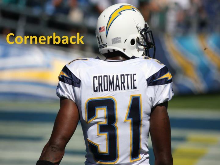 Cornerback