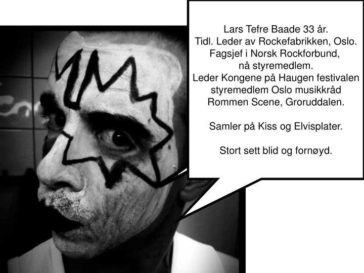 Lars Tefre Baade