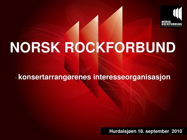 NORSK ROCKFORBUND
