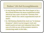 brahms life and accomplishments4