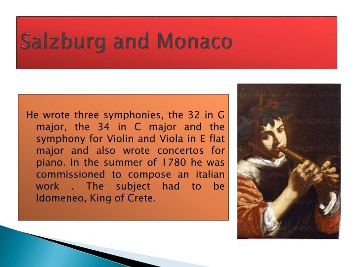 Salzburg and Monaco