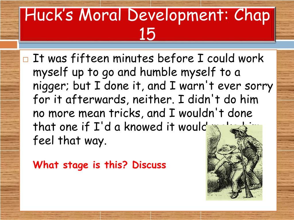 huck moral conscience