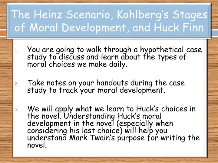 an introduction to the criticism of hohlbergs moral development An introduction to ethical literary criticism  historical development of the ethics of criticism and the vigorous contemporary backlash  its moral value, while.