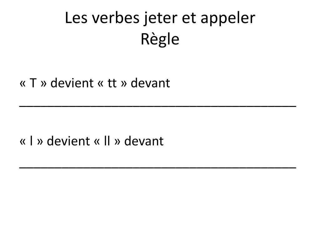 Ppt Les Verbes Du 1 Er Groupe Powerpoint Presentation Free Download Id 2182863