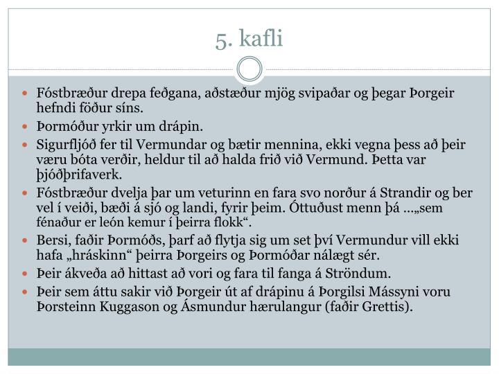 5. kafli