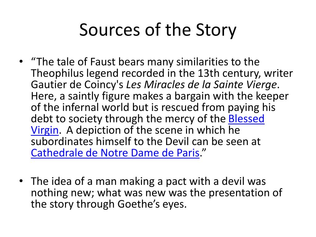 PPT - Goethe's Faust PowerPoint Presentation, free download